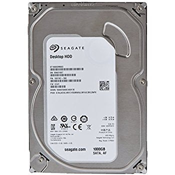 Seagate Barracuda 1TB Desktop SATA Internal Hard Drive