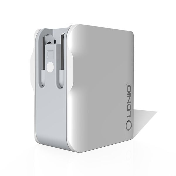 LDNIO USB Travel Charger | 3 Port USB | Fast Charging | DC 5V/3.4A