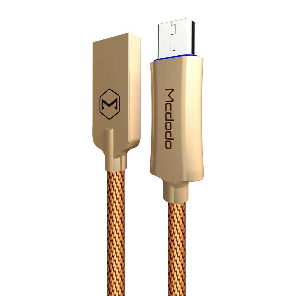 Premium Micro USB Data Cable | Auto Disconnect | Quick Charge 3.0 | 1.0 m,USB Cable,Wedyut.