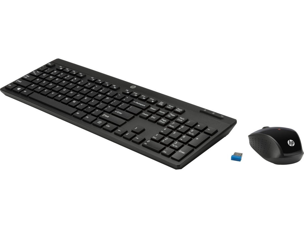 P HP-200 Wireless Keyboard and Mouse Combo (Black)