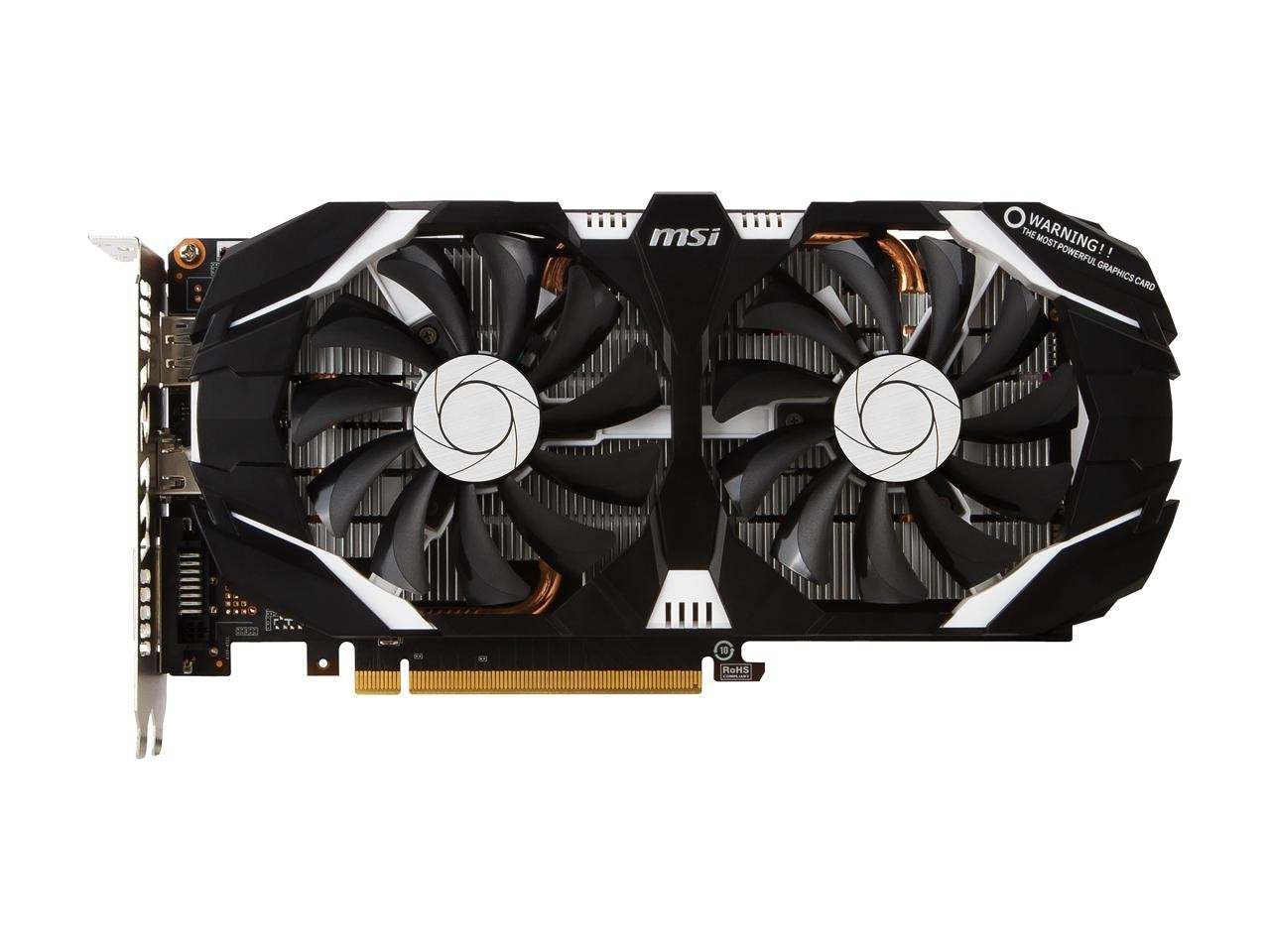 MSI GeForce GTX 1060 6GB GDDR5 Dual Fan