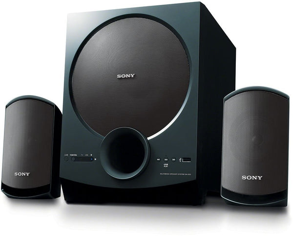 Sony SA-D20 C E12 2.1 Channel Multimedia Speaker System with Bluetooth (Black)