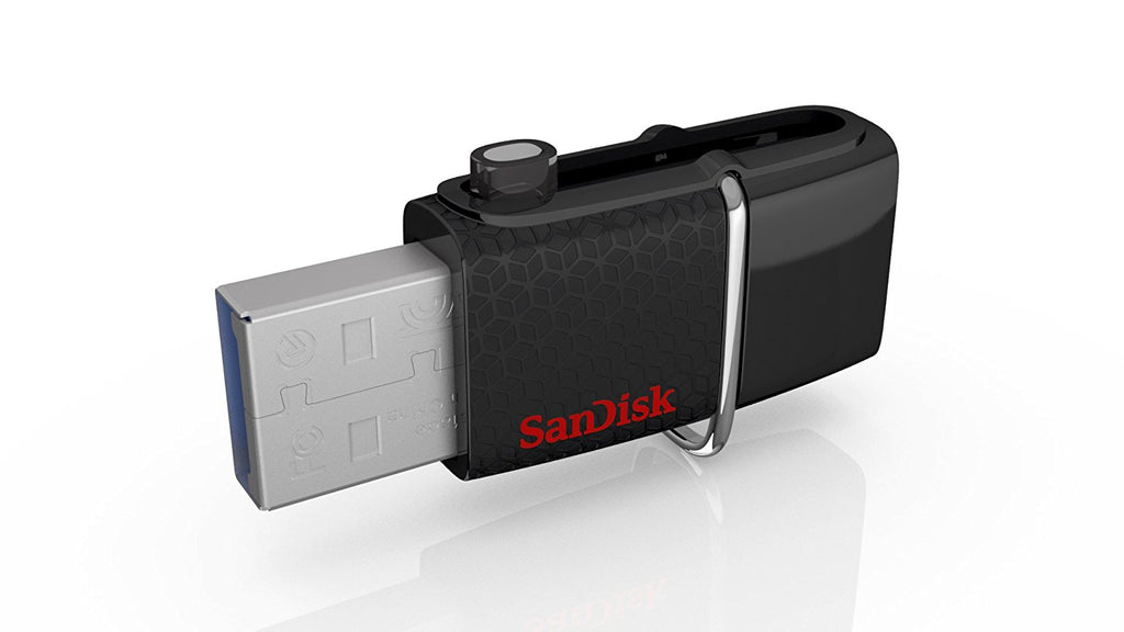 SanDisk Ultra 128GB USB 3.0 OTG Flash Drive with micro USB connector For Android Mobile Devices
