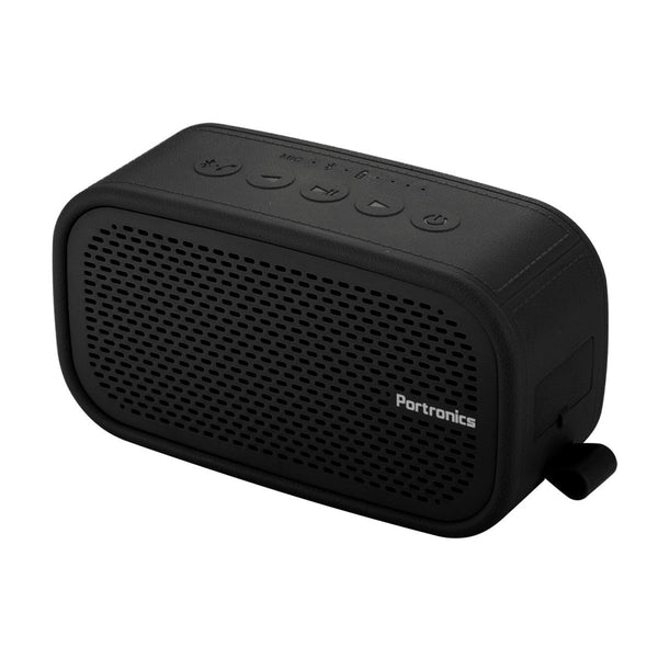 Portronics POR-686 Posh II Wireless Portable Bluetooth Speaker (Black)