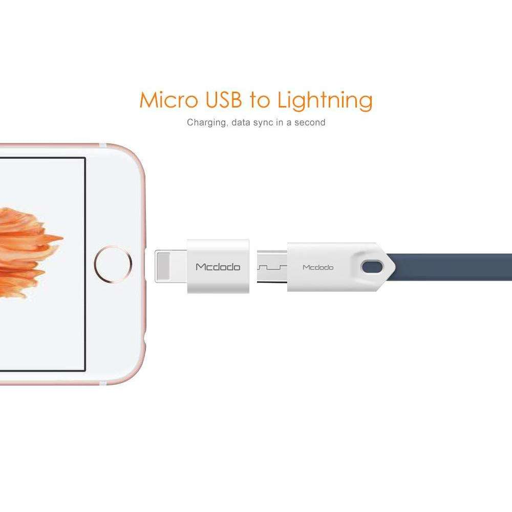 USB Convertor | Lightning to Micro USB 2.0 AF,USB Devices,Wedyut.