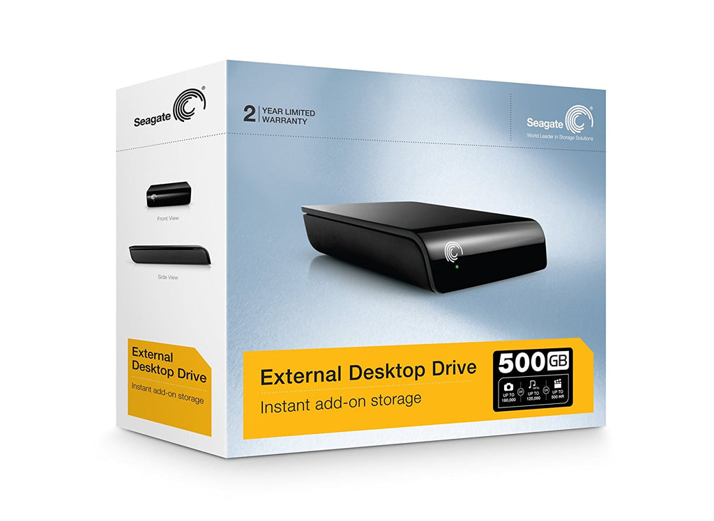 Seagate Expansion 500 GB USB 2.0 Desktop External Hard Drive ST305004EXA101-RK