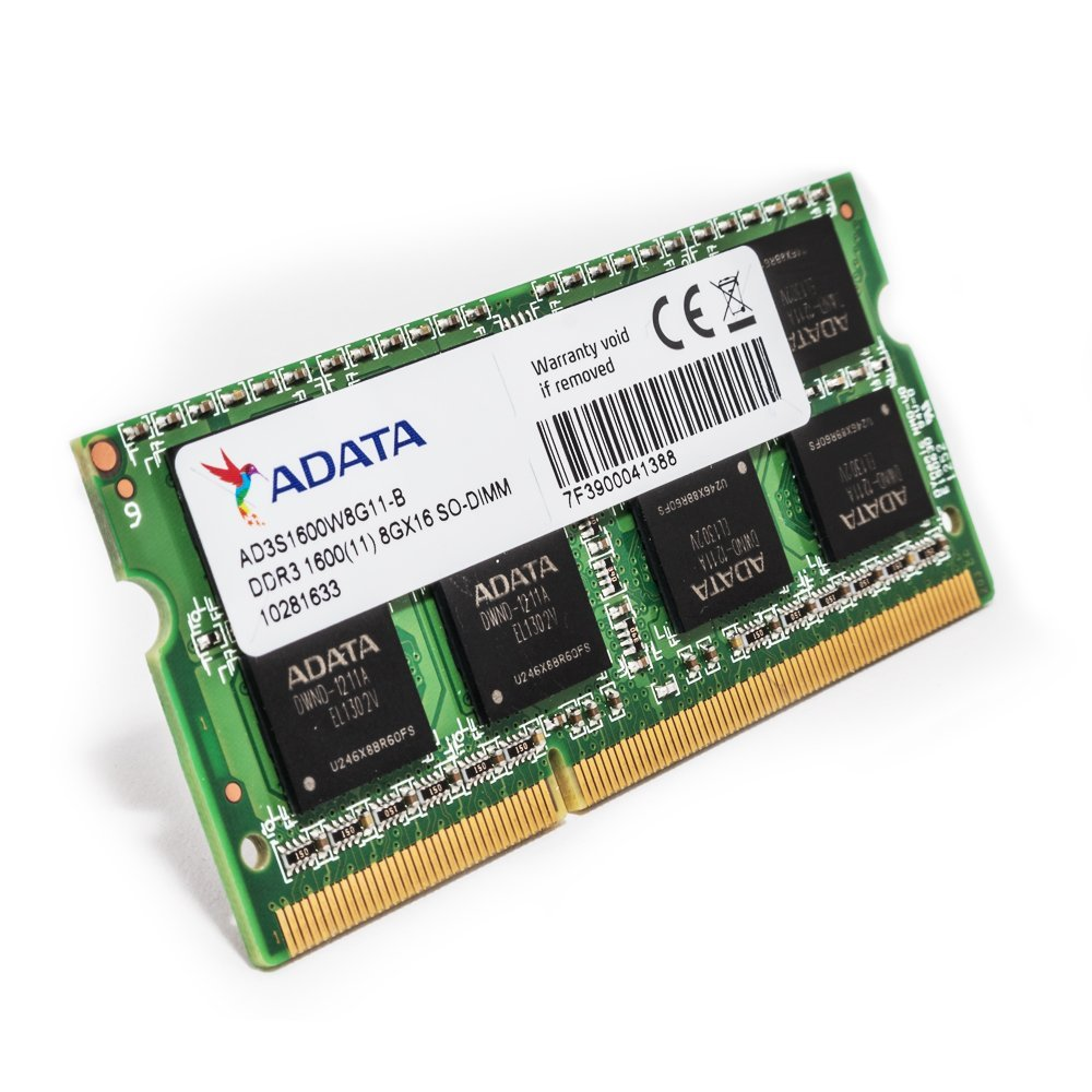 ADATA 8GB DDR3 1600MHz Laptop RAM