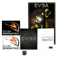 NVIDIA EVGA GeForce GTX TITAN X 12GB GAMING, Play 4k with Ease Graphics Card