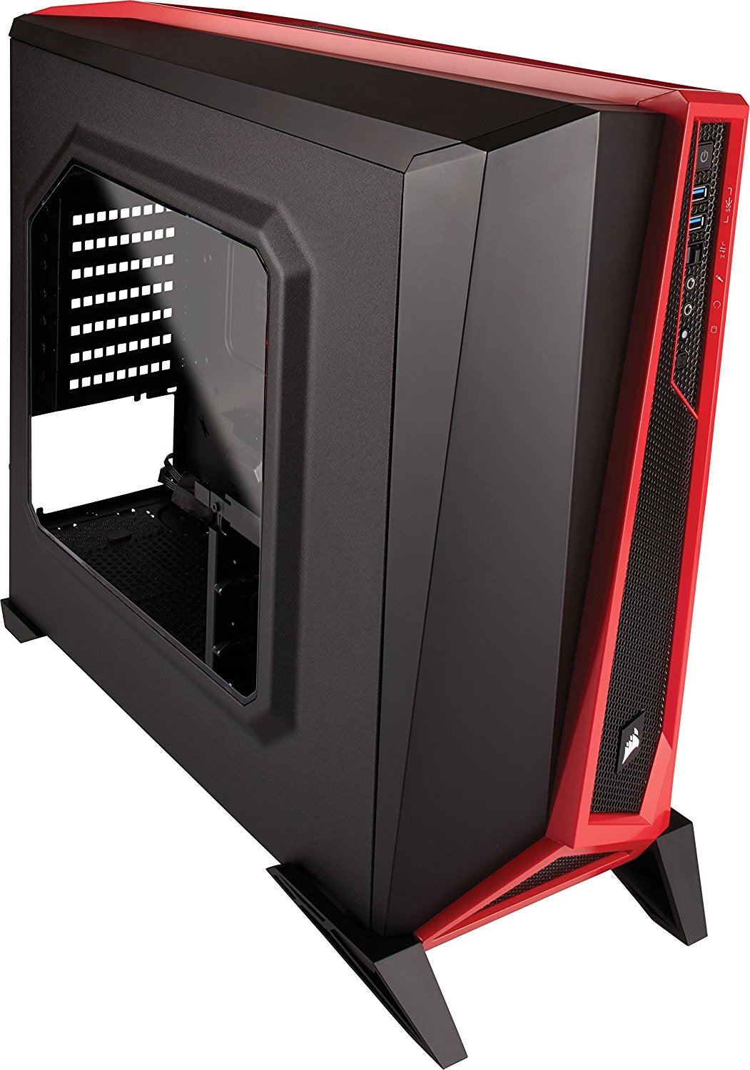 Corsair Carbide SPEC-ALPHA Mid-tower Gaming Case (Black/Red) Support for 240mm Radiator