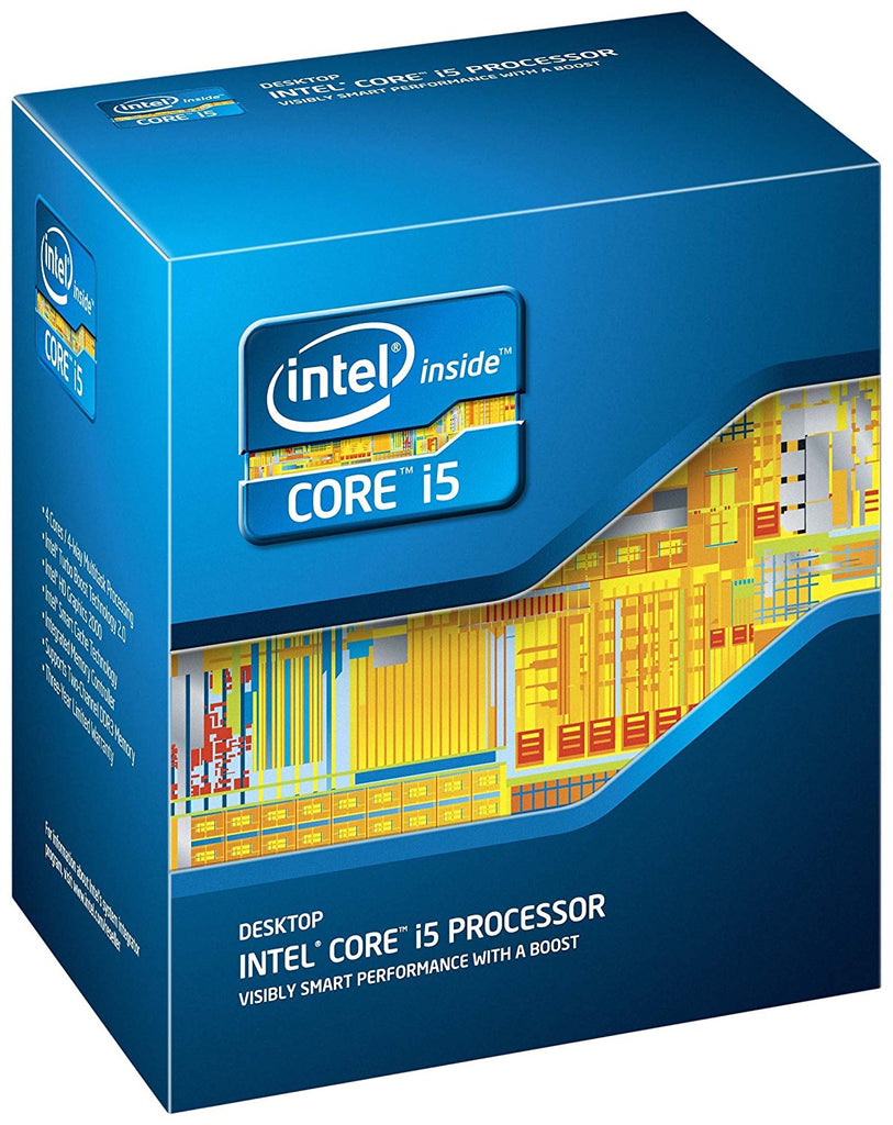 Intel Core i5-2400S Quad-Core Processor 2.5 GHz 6 MB Cache LGA 1155