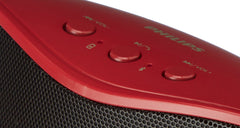 Philips BT-4200/94 Wireless Bluetooth Speakers (Red)