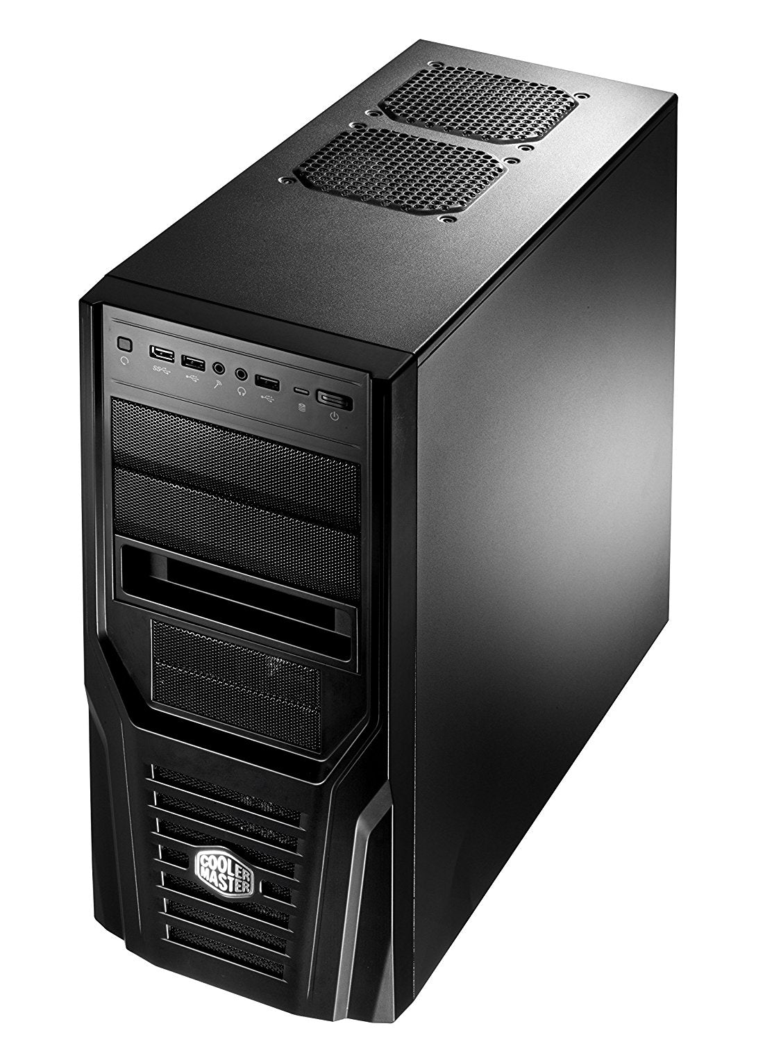 Cooler Master Elite 431 Plus RC-431P-KWN2 CPU Cabinet (Black)