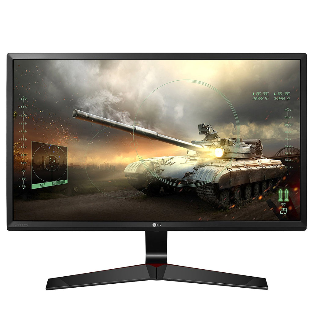 LG 24MP59G 24-inch IPS Screen Gaming Monitor (Black)