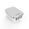 LDNIO USB Travel Charger | 4 Port USB  | Fast Charging | DC5V/4.4A(AM)  22W