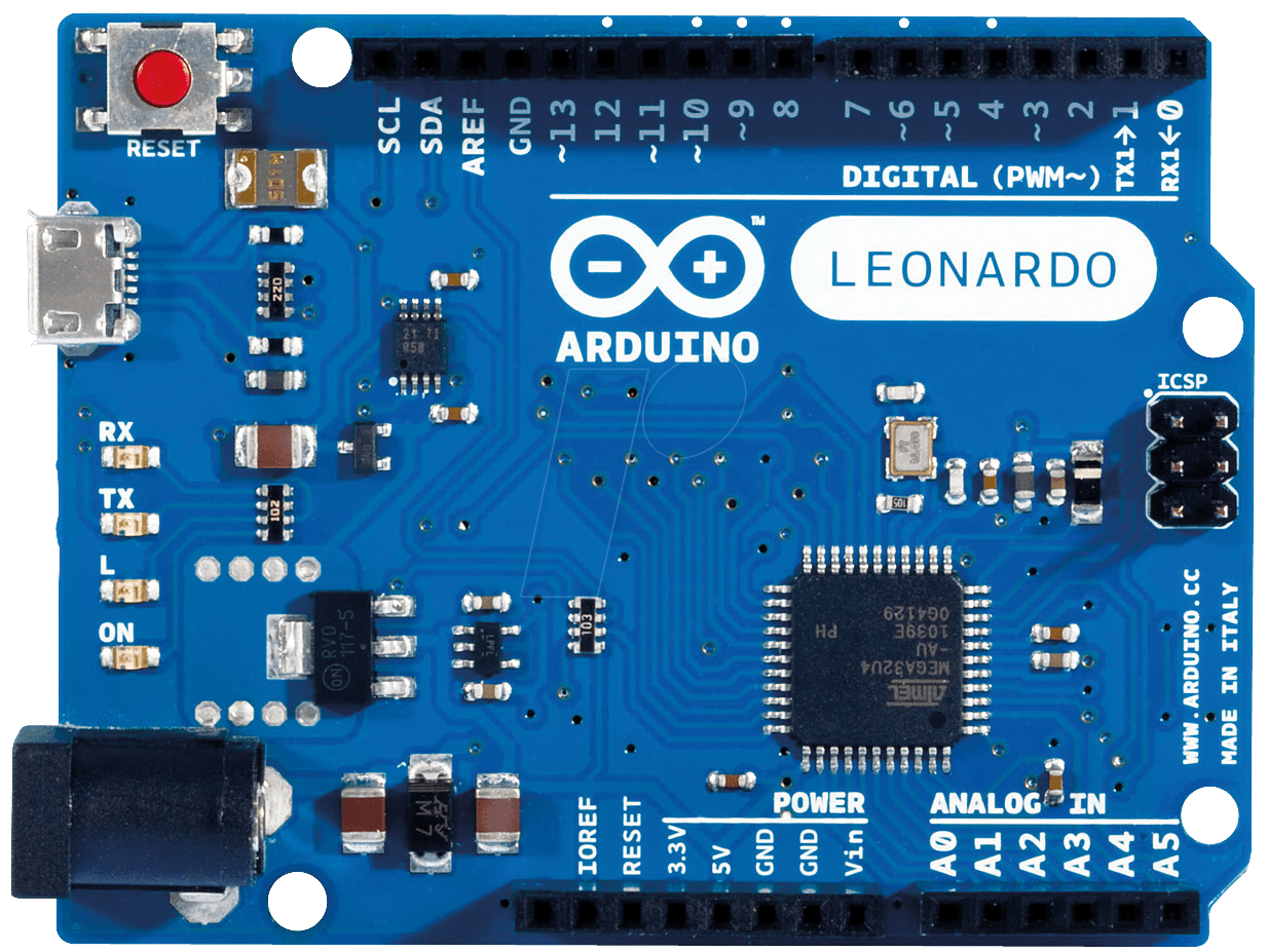 Arduino Leonardo R3 | ATmega32U4 Development Board | With USB Cable For Arduino