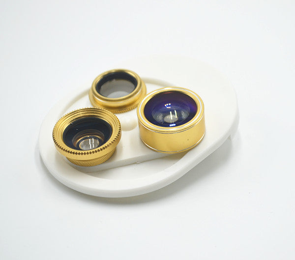 Cell Phone Camera Lens, 4 in 1 Smartphone Camera Lens Kit