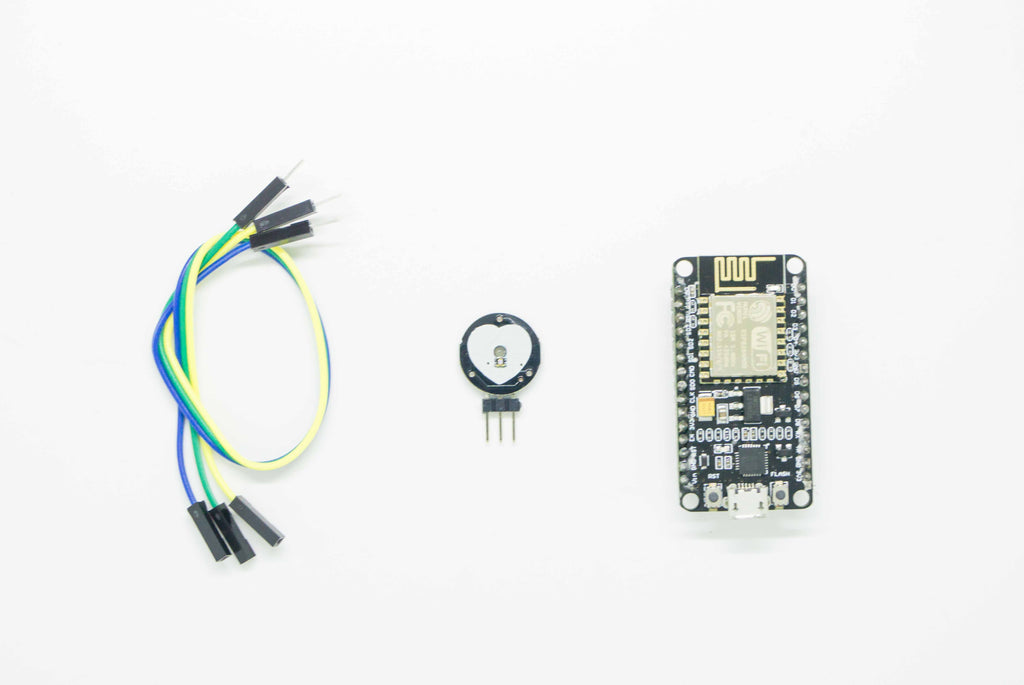 Heart Beat Monitor | Infrared Pulse Sensor | IOT Wifi Kit | Node MCU