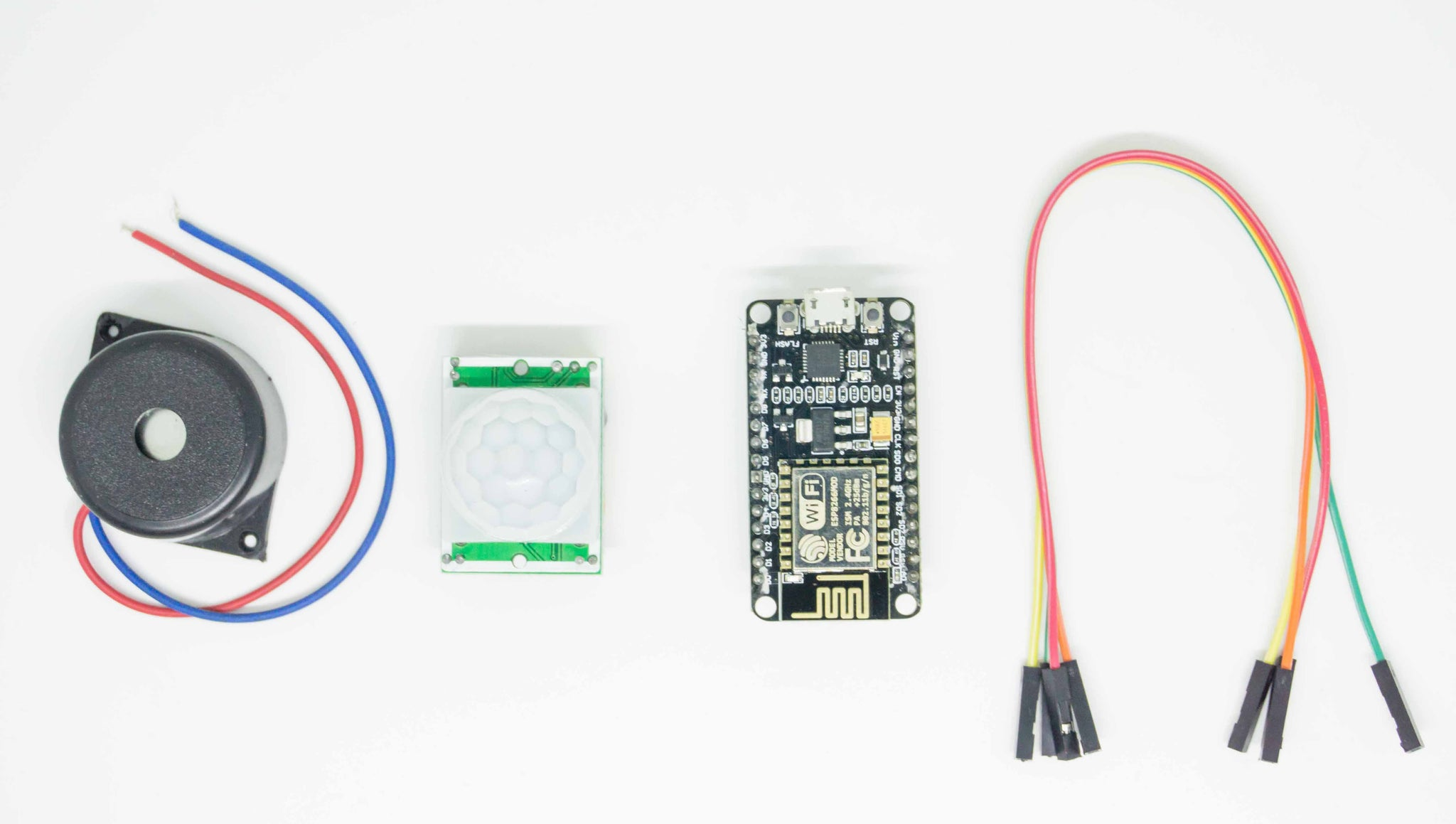 Human Motion Sensor | Wifi IOT Safety Device | PIR sensor | Node MCU | Kit