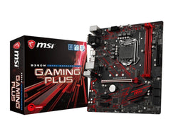 MSI B360M Gaming Plus VR Ready, Optane Ready, Mystic Light, Gaming Certified mATX Motherboard