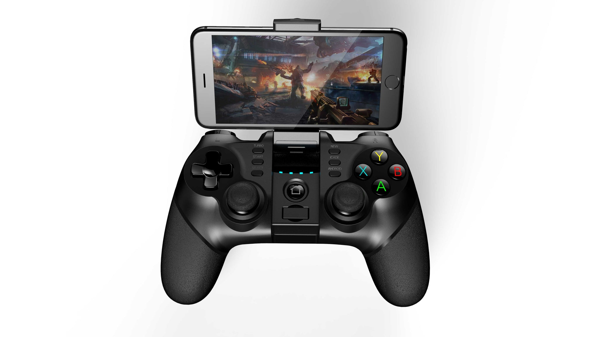 Play-X1 | Game Controller | Bluetooth | Joystick | For PC, Mobile, Laptop | With Turbo Function