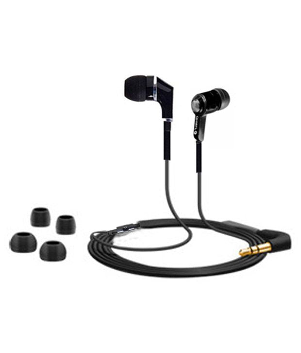 Quantum QHM558H EARPHONE with MIC for iPhone ,I Pod ,MP3 MOBILE TABS | with 3.5 mm jack