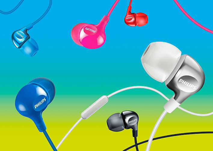 PHILIPS SHE 3700 | Headphones 8.6mm drivers/closed-back, In-ear