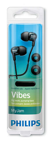 PHILIPS SHE 3705 | Headphones with mic 8.6mm drivers/closed-back, In-ear