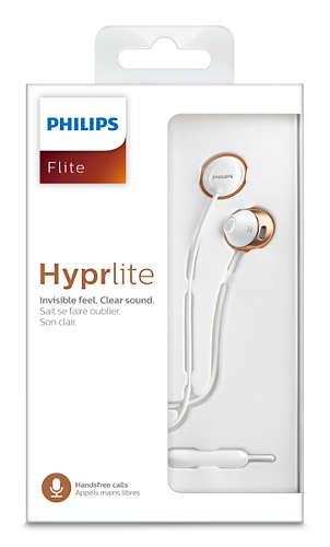 PHILIPS SHE-4205 | Headphones with mic 12.2mm drivers/ open earbud, Earbud