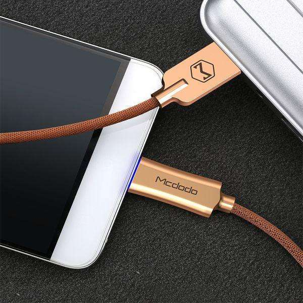 Premium Type-C Data Cable | Auto Disconnect | Quick Charge 3.0 | 1.0 m,USB Cable,Gold,Wedyut.