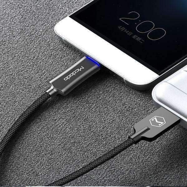 Mcdodo Data Cable | Qualcomm Quick Charge 3.0 | Auto Disconnect | Type C | 1.5 M