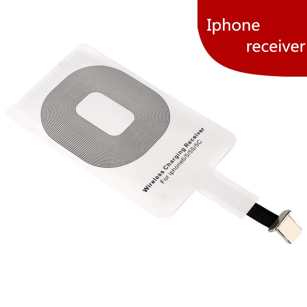 Universal QI wireless charger receiver for IPhone, Android