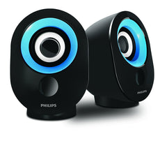 Philips SPA-50B/94 Speaker with USB Plug (Blue)