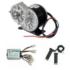 E-BIKE DC GEARED MOTOR 24V 480RPM 450W WITH CONTROLLER