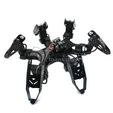 18DOF 6LEGGED INTELLIGENT HEXAPOD ROBOT METAL FRAME KIT