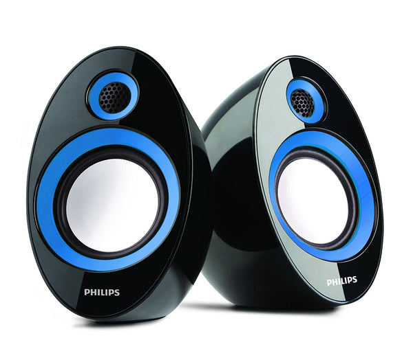 Philips SPA-60 2.0 Speaker System (Blue)