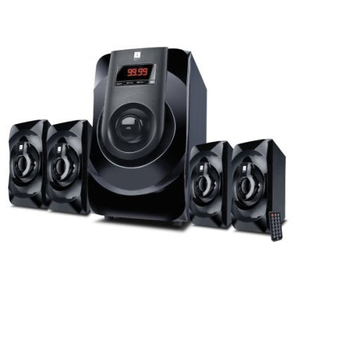 iBall Concert C9 4.1 Channel Multimedia Speakers (Black)