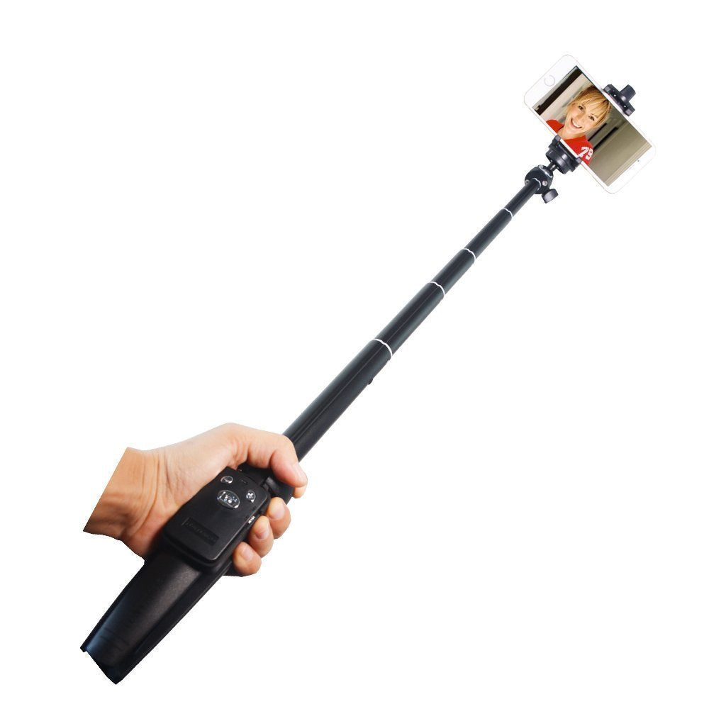 Tripod Selfie Stick Portable Handheld Lightweight 3-in-1 with Remote Shutter