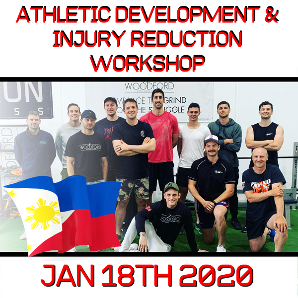 Athletic Development & Injury Reduction Workshop (Philippines)(Jan 18th 2020)