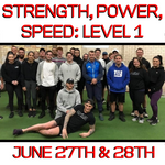 Level 1: Strength, Power, Speed Certification Workshop (VIC) (June 27/28th 2020)