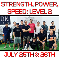 Level 2: Strength, Power, Speed Workshop (VIC) (July 25/26th)