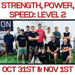 Level 2: Strength, Power, Speed Certification Workshop (VIC) (Oct 31st/Nov 1st)