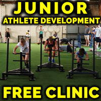 Junior Athlete Development FREE Clinic (July 14th)