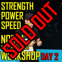 Noosa (Sunshine Coast) Strength, Power & Speed Workshop (DAY 2)