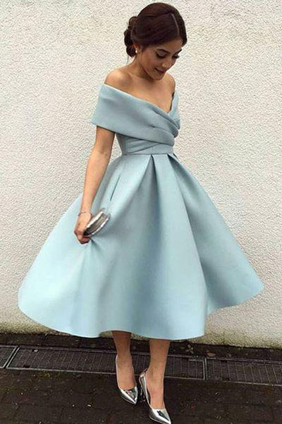 Elegant Knee Length Short Prom Dresses, Vintage Homecoming Dresses PH344