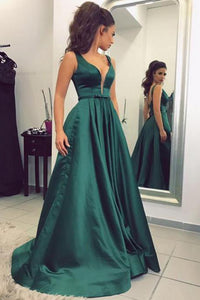 Dark Green Long Prom Dress,Cheap Evening Dress,Formal Women Dress,PL138