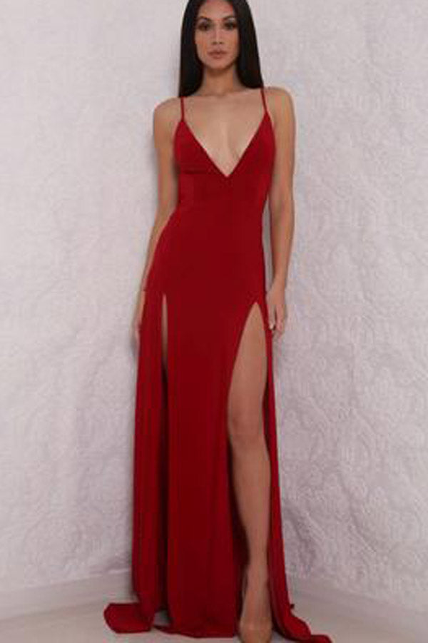 Homecoming Dresses with Slit