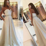Elegant Light Sweetheart Prom Dress