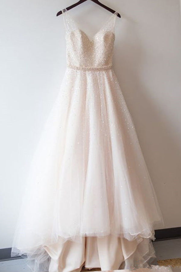 Cheap Wedding Dresses with Beading,Gorgeous Wedding Gowns, PW125
