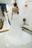 Chiffon wedding dresses at promnova.com