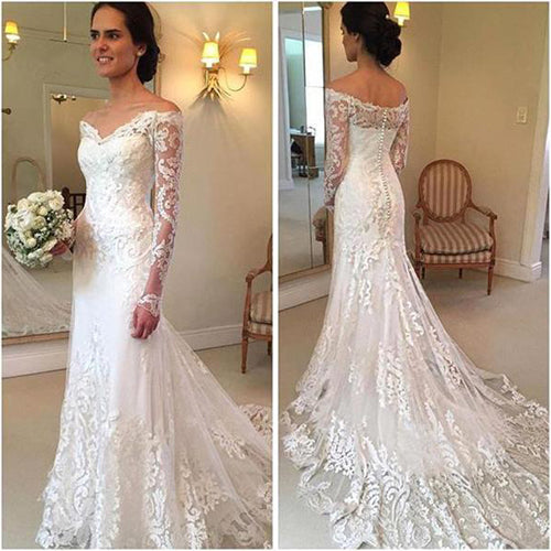 Wedding dresses at promnova.com